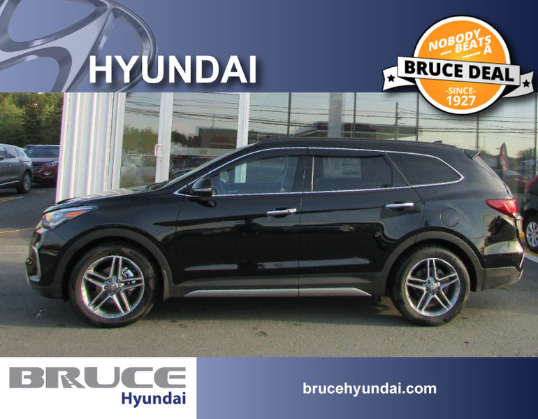New 2017 Hyundai Santa Fe Xl Limited 7 Pass For Sale 39404 0 Bruce Automotive Group