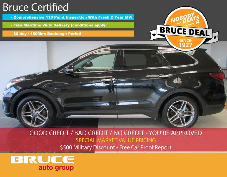 Used 2017 Hyundai Santa Fe Xl Limited 3 3l 6 Cyl Automatic Awd For Sale 27499 0 Bruce Gm