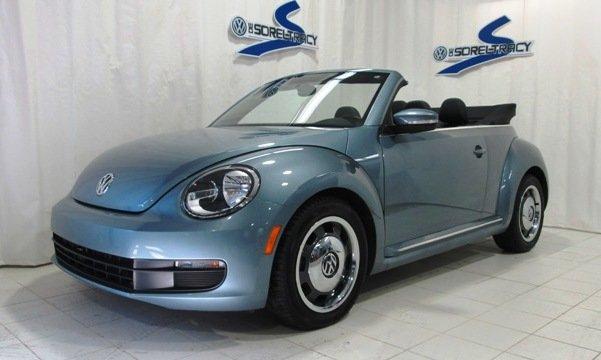 volkswagen beetle decapotable denim edition speciale denim bleu  km  sale