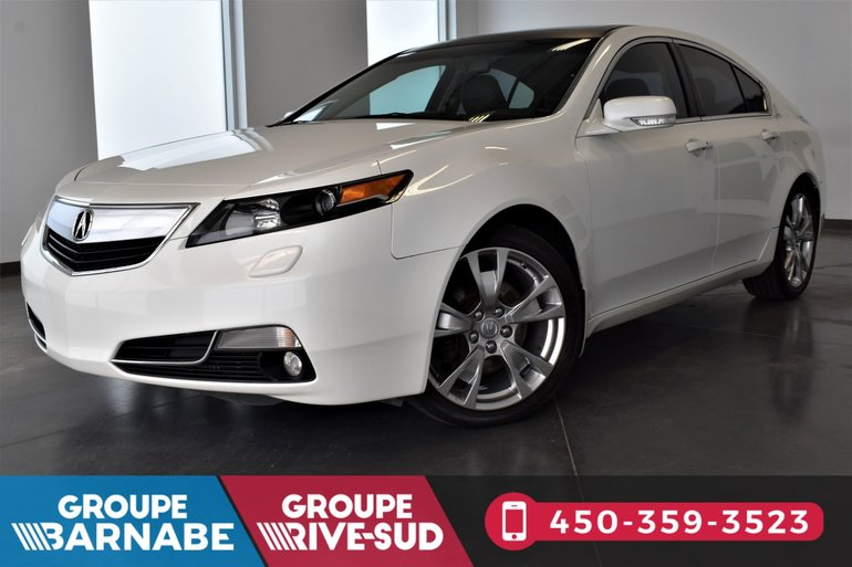 Acura Tl A Vendre >> Barnabe Mazda Pre Owned 2012 Acura Tl Awd Groupe Tech Toit