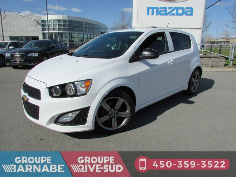 2015 Chevrolet Sonic ***RS TOIT OUVRANT SIÈGE CHAUFFANT BLEUTOOTH***