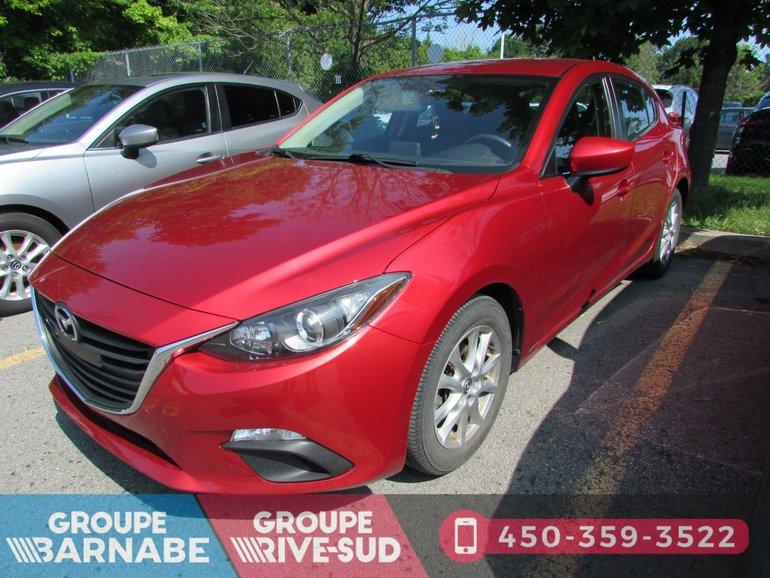Mazda3 ***GS-SKY CAMERA DE RECUL BLUETOOTH A/C *** 2014
