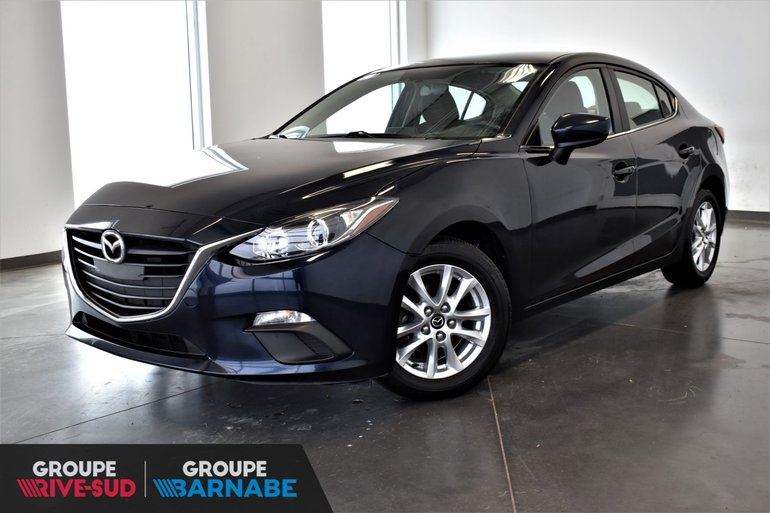 2015  Mazda3 **GS  CAMERA DE RECUL SIÈGE CHAUFFANT BLUETOOTH **