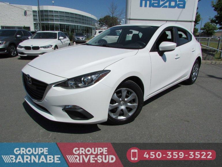 2015  Mazda3 GX AIR CLIMATISÉ BLUETOOTH LECTEUR CD
