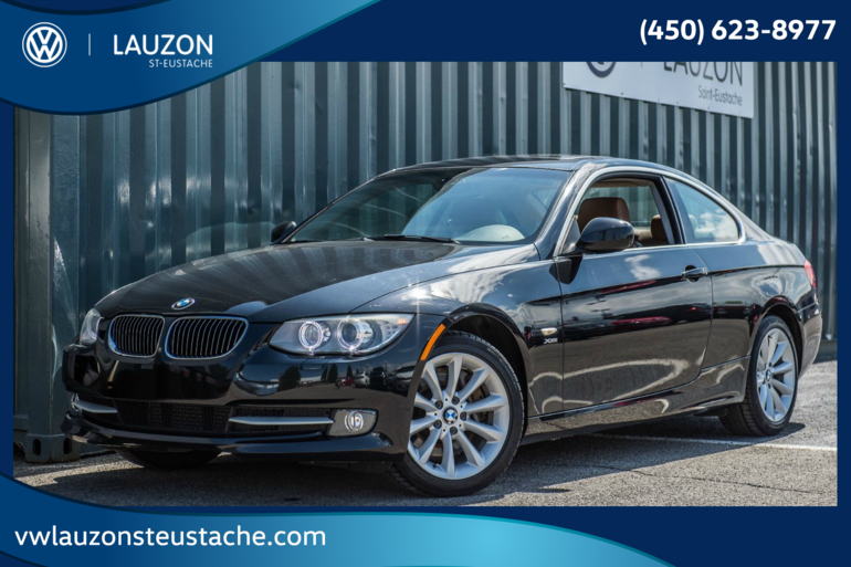 BMW 3 Series 335i xDrive+Cuir+BAS KM+Coupe 2011