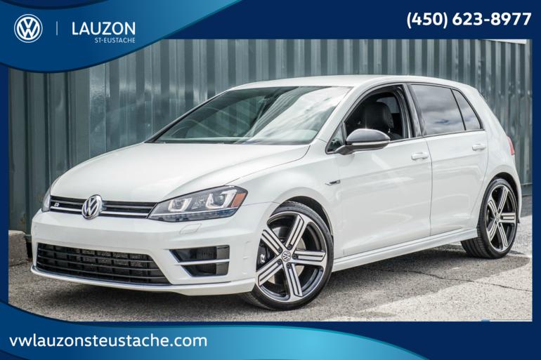 Volkswagen Golf R 2.0 TSI+DSG+CUIR+GPS 2016