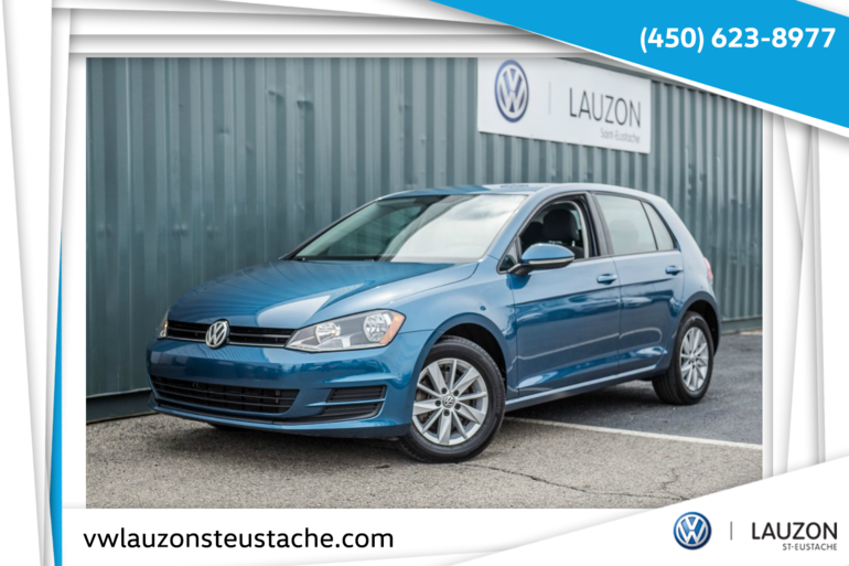 2015 Volkswagen Golf 1.8 TSI  Trendline+BAS KM+A/C+Automatique