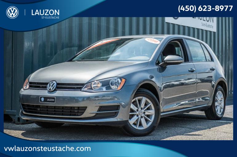 Volkswagen Golf 1.8TSI Trendline+A/C+Bluetooth 2016