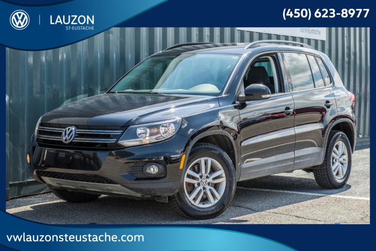 2014 Volkswagen Tiguan Trendline+4Motion+BAS KM+Bluetooth