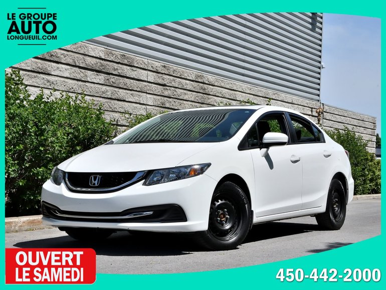 2015 Honda Civic Sedan *EX*TOIT*MAGS*CAMERA*ECRAN TACTILE*BLANC*