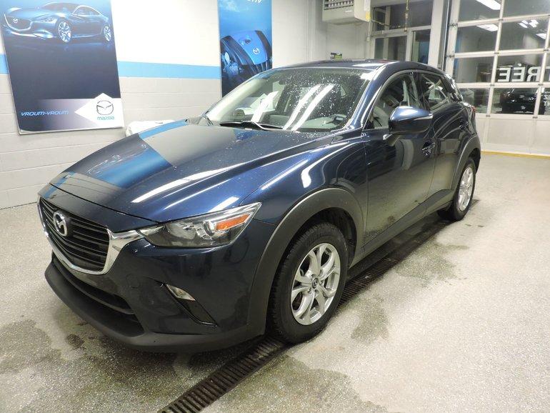 Mazda CX-3 GS AWD AUTO PADDLE SHIFT MAGS ET BAS KM 2019