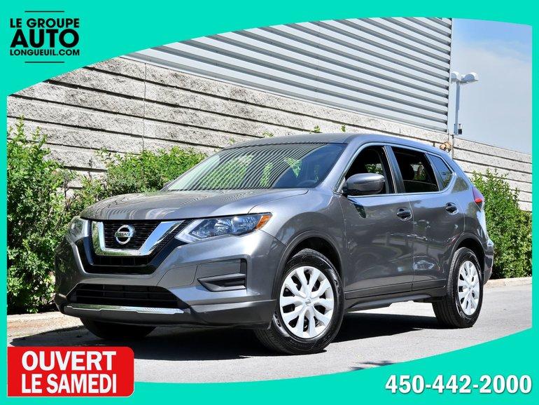 2017 Nissan Rogue *AUTOM*A/C*CAMERA*GRIS*BAS KILO*