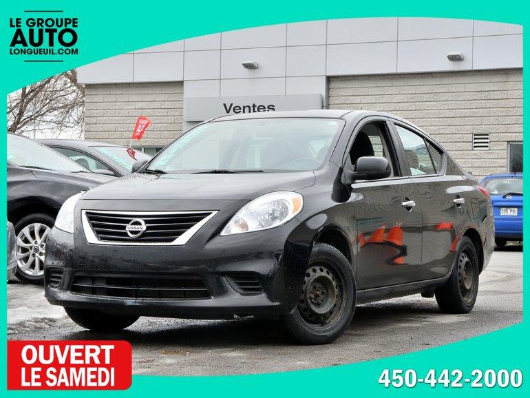 2013 Nissan Versa *SV*AUTOM*A/C*BAS KILO*
