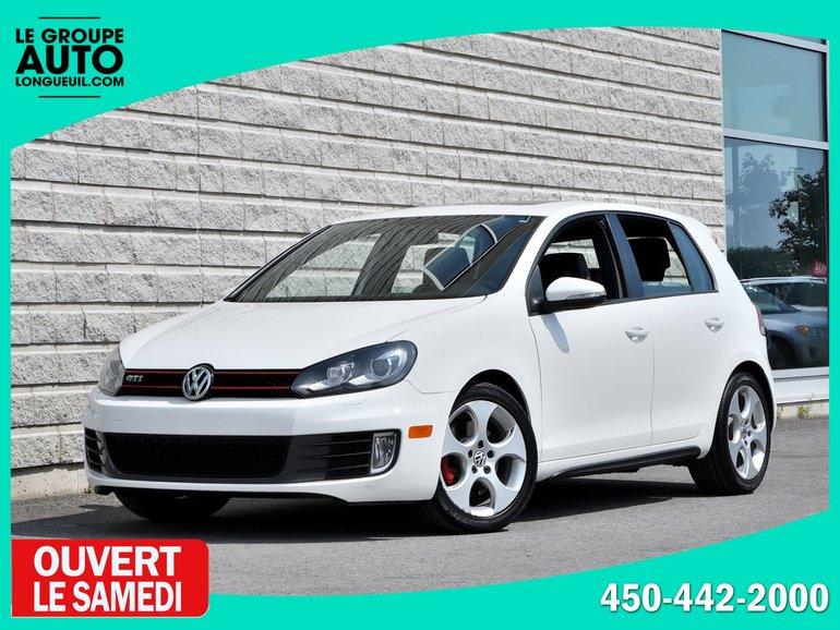 2011 Volkswagen Golf GTI *DSG*CUIR*TOIT*BLANCHE*1PROPRIO*
