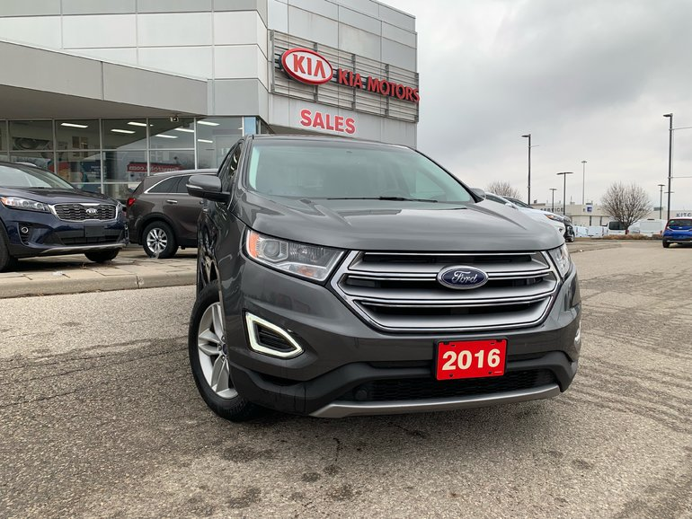 2016 Ford Edge SEL - FWD - NAVI, LEATHER, PANO ROOF