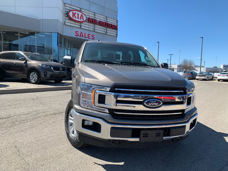 2018 Ford F150 4x4 - Supercrew XLT - ACCIDENT FREE!!