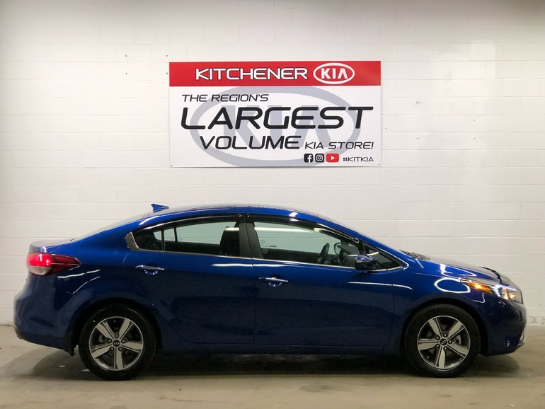 2018 Kia Forte EX - HEATED SEATS, HEATED STEERING WHEEL!