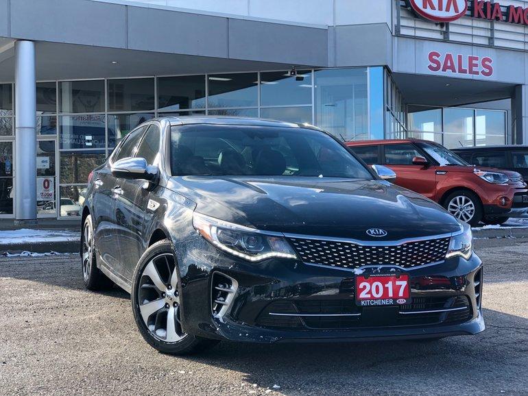 2017 Kia Optima Sxl Turbo >> Used 2017 Kia Optima Sxl Turbo For Sale 28900 0 Kitchener Kia