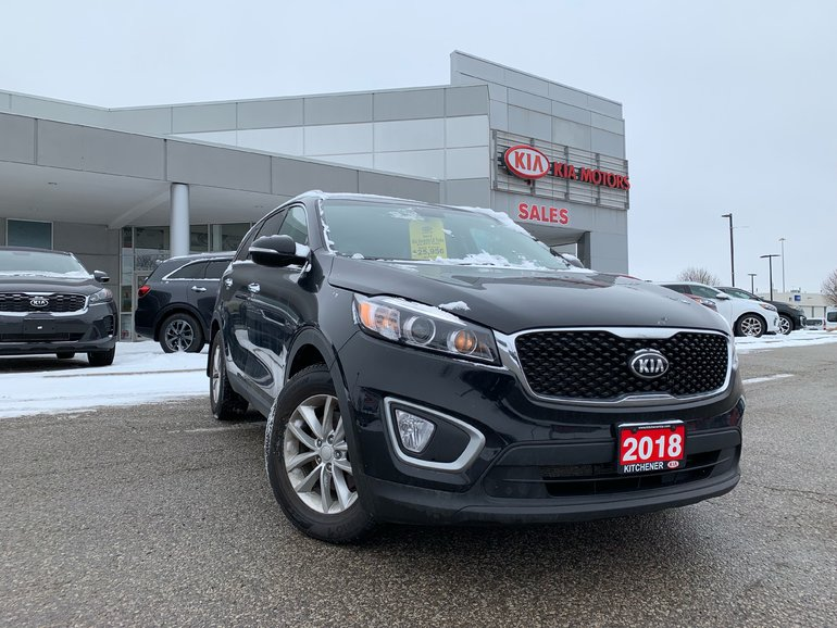 2018 Kia Sorento LX 2.0L Turbo - AWD, APPLE CARPLAY / ANDROID AUTO