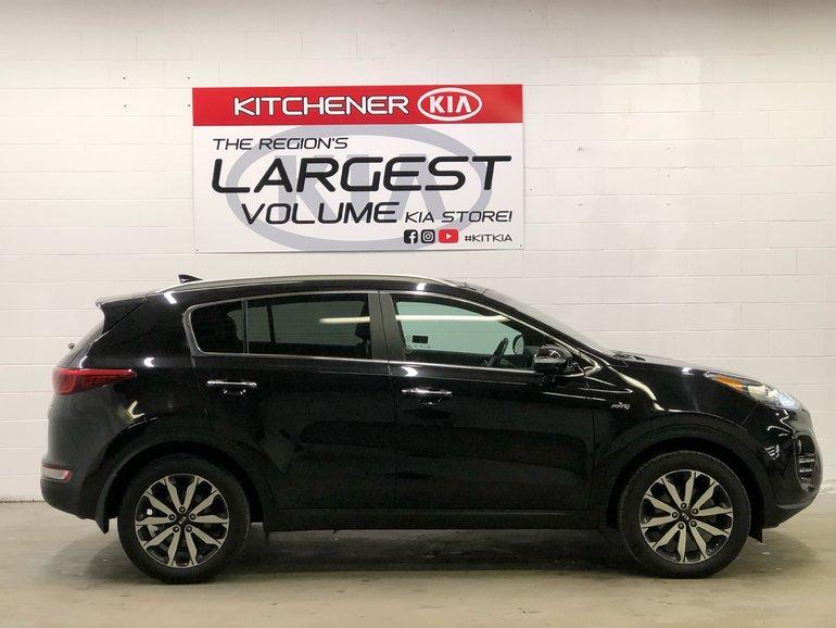 2017 Kia Sportage EX Tech AWD