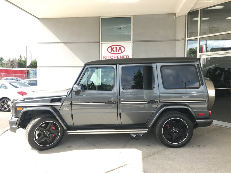 2015 Mercedes-Benz G63 AMG 1 OWNER, CARFAX CLEAN & WINTER TIRE PACKAGE!!!