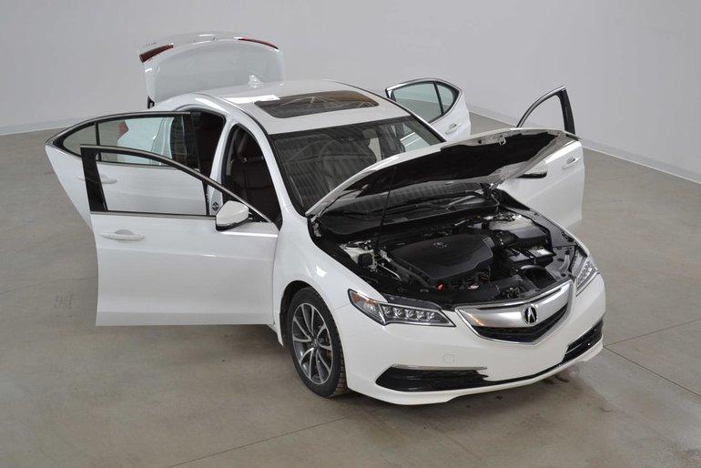 Acura TLX SH-AWD V6 Technologie Cuir brun Impecable !!! 2015