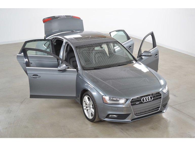 Carrefour 40 640 >> Audi A4 2.0T Quattro Technik GPS*Cuir*Toit Ouvrant* 2014 122 615 KM Gris neuf - 17891.0 ...