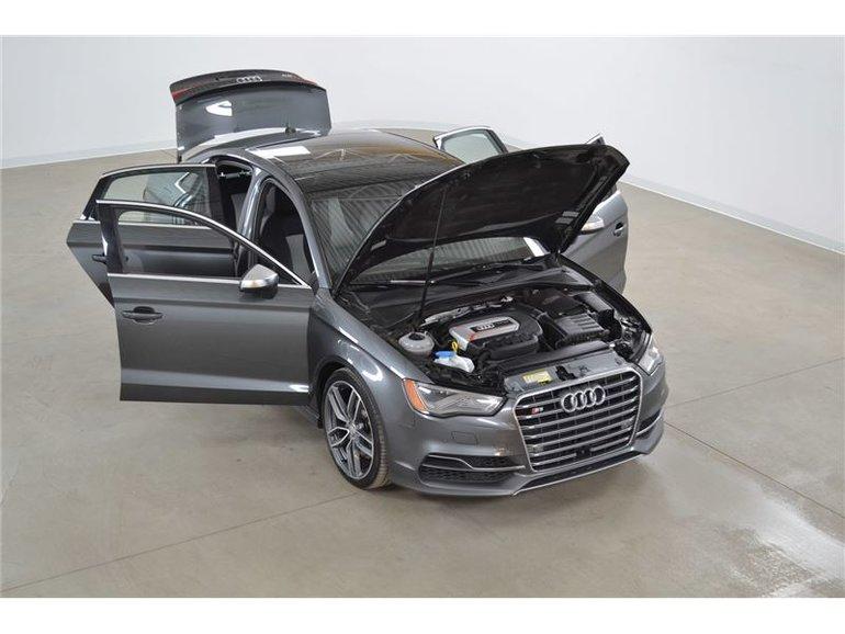 Audi S3 2.0T Quattro Technik GPS*Cuir*Toit Ouvrant* 2015