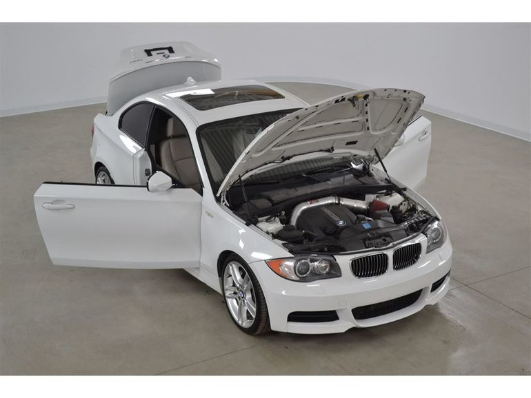 2011 BMW 135i Coupe 3.0 Turbo Cuir*Toit Ouvrant Manuelle