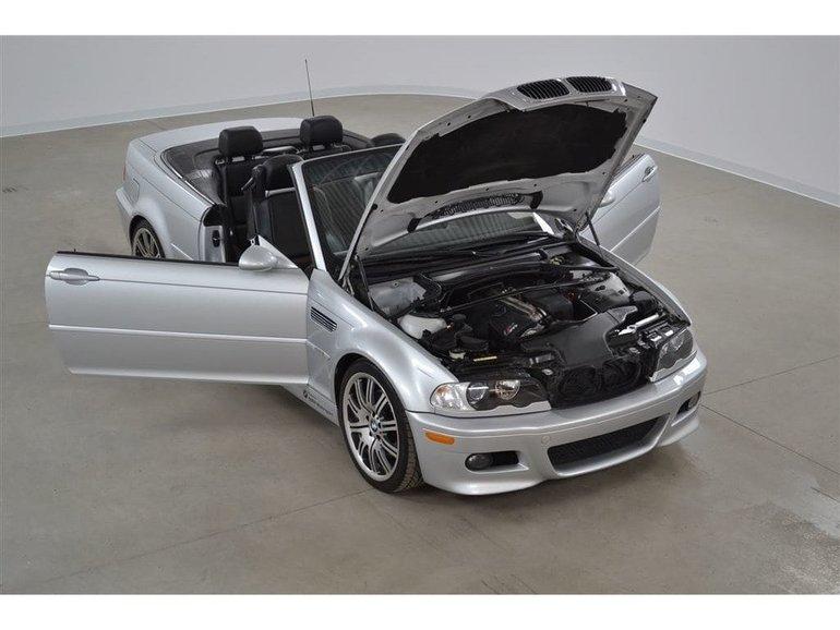 Used 2004 Bmw 3 Series M3 Convertible Pour Les Connaisseurs