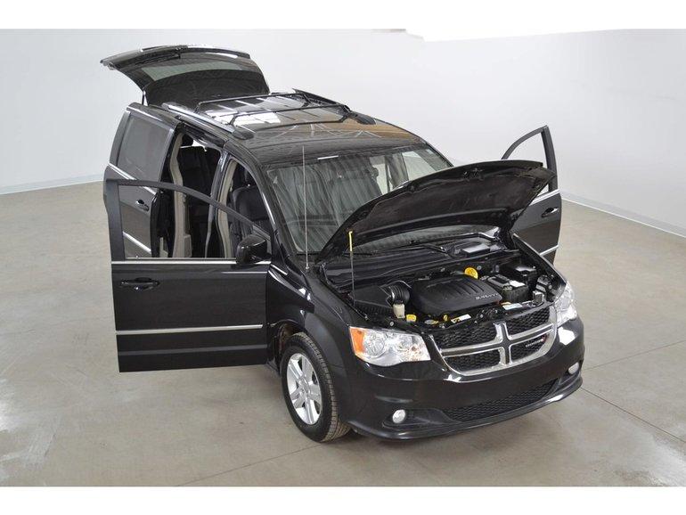 2016 Dodge Grand Caravan Crew Plus Cuir*Stow'N'Go*Camera Recul*
