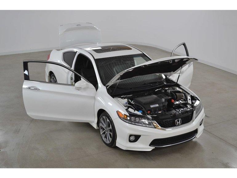 2015 Honda Accord Ex L V6 >> 2015 Honda Accord Coupe Ex L V6 Gps Cuir Toit Ouvrant Automatique