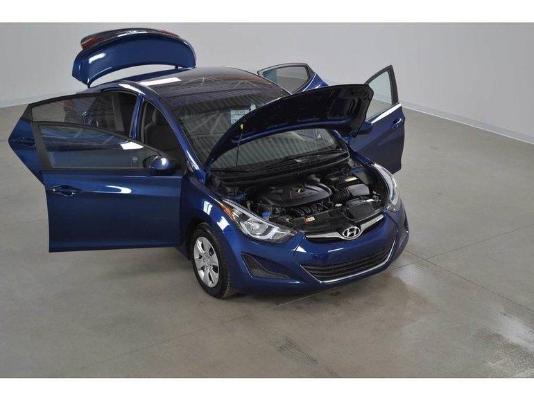 Hyundai Elantra L  Gr.Electrique*Climatiseur Manuelle 6 Vitesses 2016