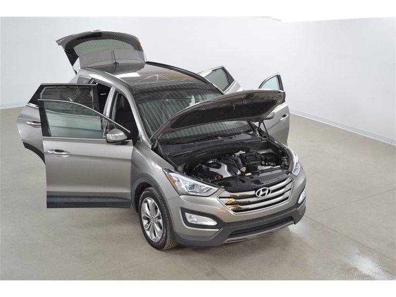 2016 Hyundai Santa Fe Sport Limited 4WD 2.0T Turbo GPS*Cuir*Toit PANO*Camera