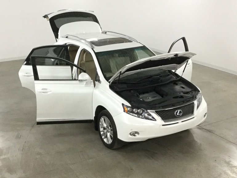 used 2012 lexus rx 450h hybride touring gps*cuir*toit*camera recul