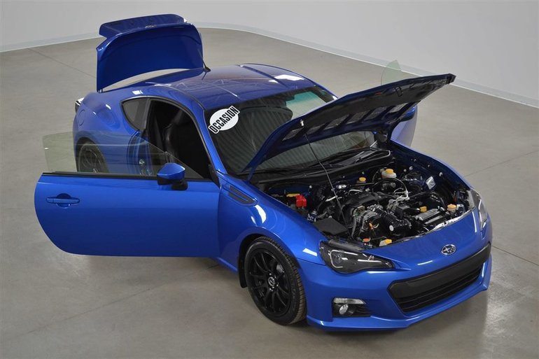 Subaru BRZ Sport-Tech GPS*Cuir/Suede*Aileron Sport Manuelle 2013