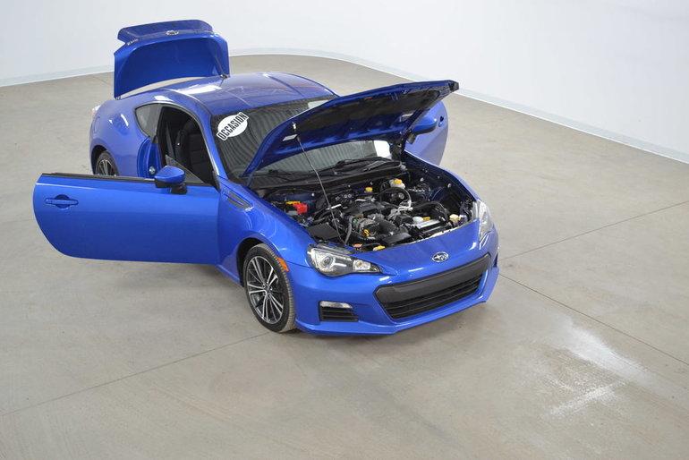2013 Subaru BRZ Sport-Tech GPS*Cuir/Suede*Aileron Sport Manuelle
