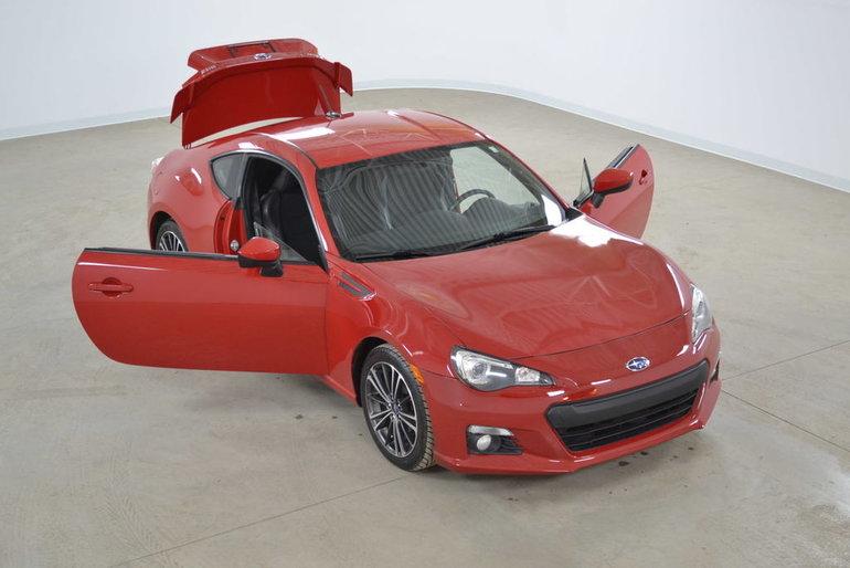2014 Subaru BRZ Sport-Tech GPS*Cuir/Suede*Aileron Sport Manuelle