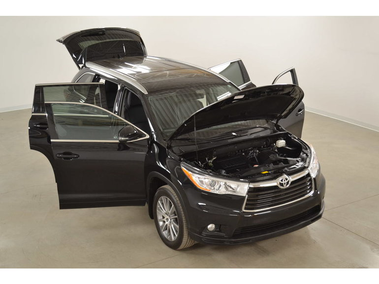 2016 Toyota Highlander XLE 4WD GPS*Cuir*Toit*Camera Recul 8 Passagers