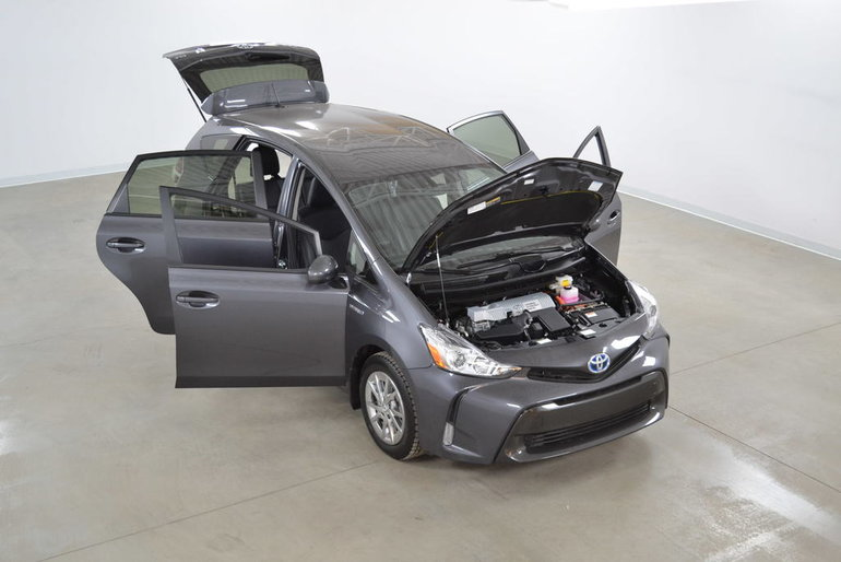 2016 Toyota Prius v Hybride Gr.Luxe GPS*Cuir*Bluetooth*Camera Recul