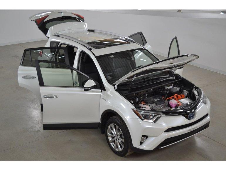 Carrefour 40 640 >> Used 2016 Toyota RAV4 Hybrid Limited 4WD-i Garantie PEA 2022-120 Km White 30,553 KM for Sale ...
