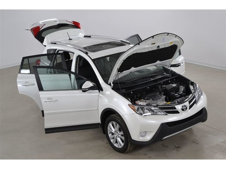 2015 Toyota RAV4 Limited 4WD JBL*LDA*GPS*Cuir*Toit*Camera Recul