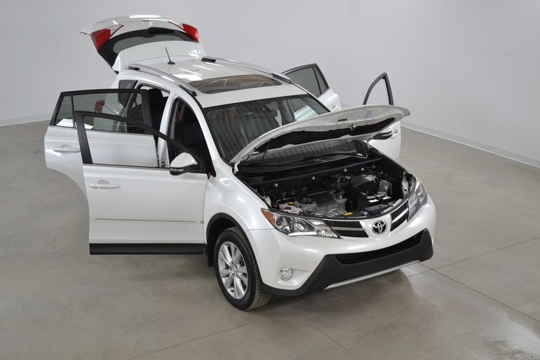 Toyota RAV4 Limited 4WD GPS*Cuir*Toit*Bluetooth*Camera Recul 2015