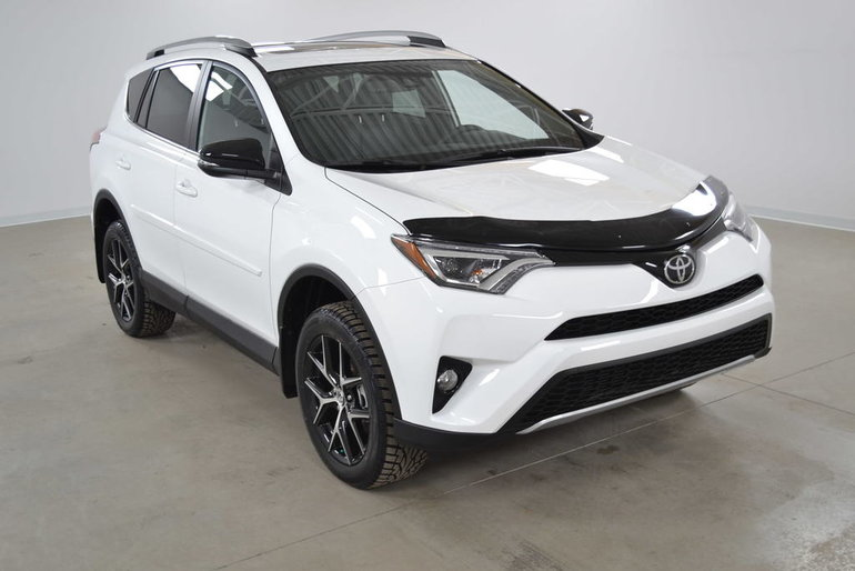 Carrefour 40 640 >> Used 2018 Toyota RAV4 SE, CUIR, TOIT, NAVIGATION White 5,000 KM for Sale - $37495.0 | Carrefour ...