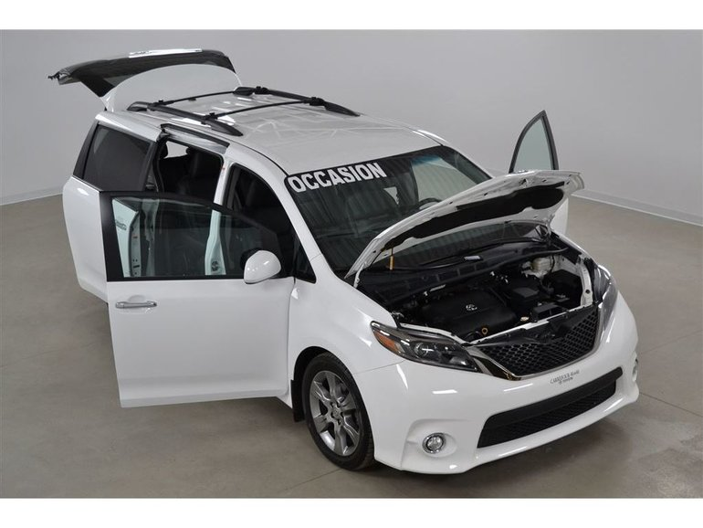 2015 Toyota Sienna SE V6 8 Passagers Cuir*Camera Recul*Bluetooth