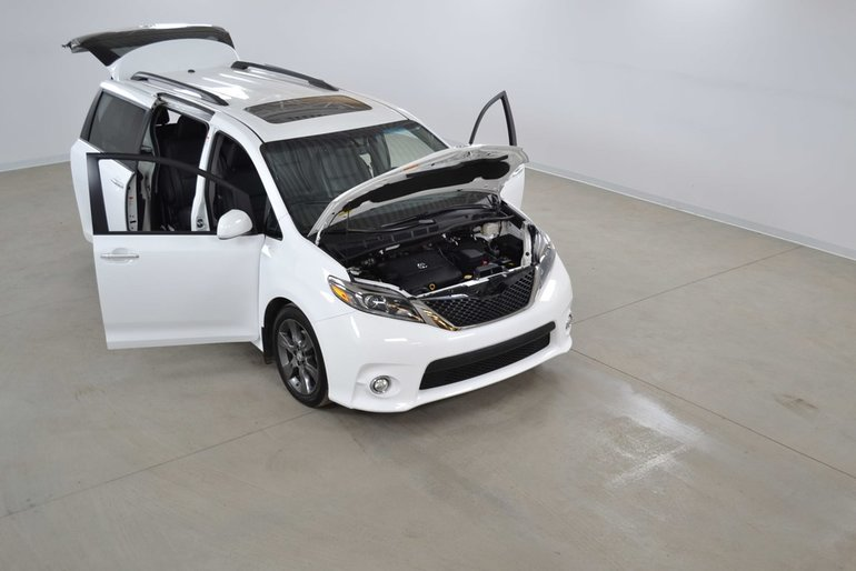 Toyota Sienna Se Techno Gps Dvd Cuir Toit Ouvrant 8 Passagers 2016
