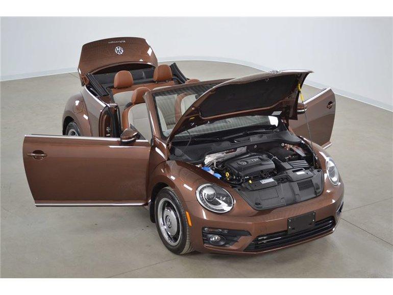 Volkswagen Beetle Convertible Classic*Ens. Style*Xenon*Camera de Recul* 2017