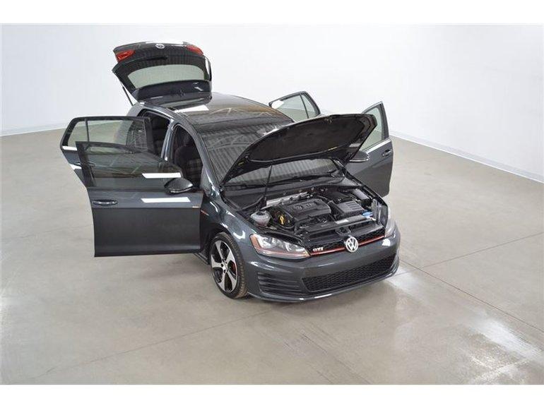 2015 Volkswagen Golf GTI Autobahn Fender*Toit Ouvrant*DSG
