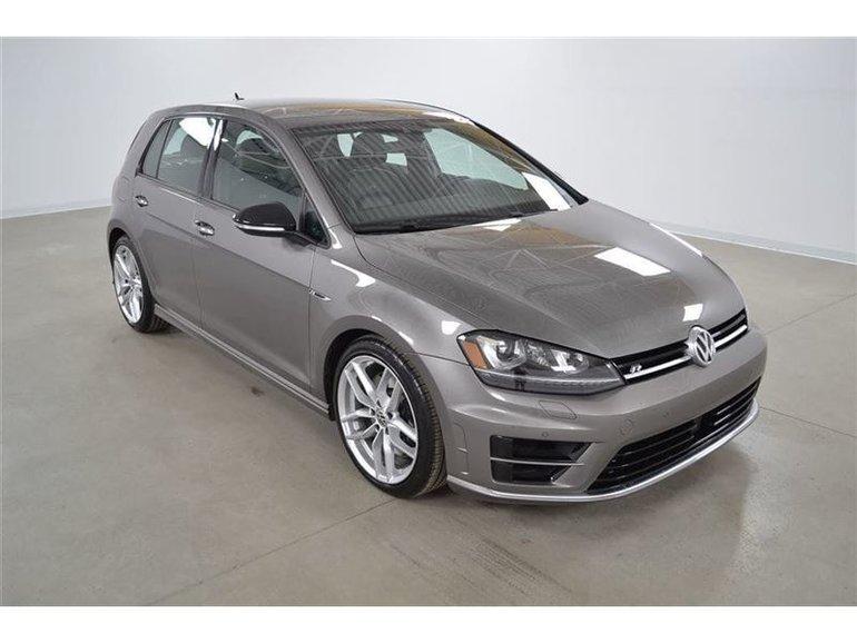 2017 Volkswagen Golf R Tech GPS*Radar*Park Assist*Cuir*Camera Recul* DSG