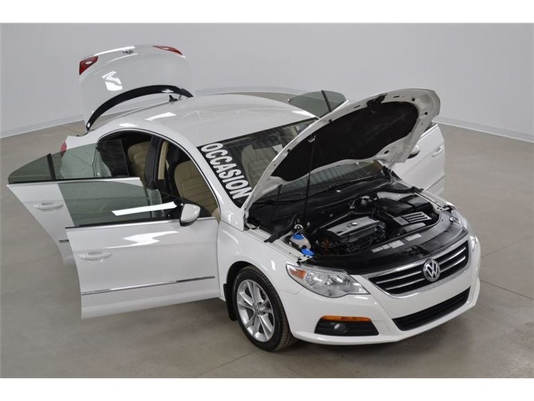 2012 Volkswagen Passat CC 2.0T Sportline Cuir 2 Couleurs DSG Impeccable !!!